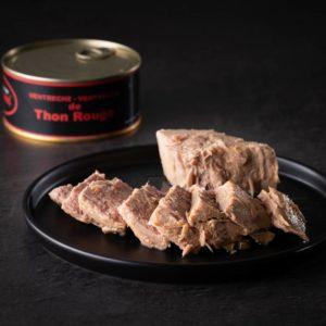 thon rouge en boite de qualité